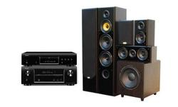 Denon DBT-1713UD + AVR-X1000 + Eltax Monaco 5.0 (czarny)