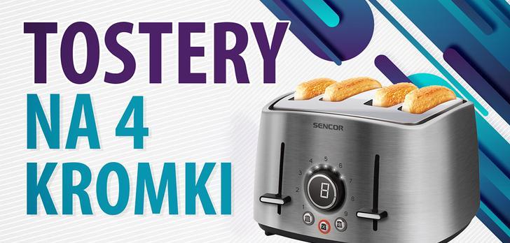 Jaki toster na 4 kromki? | TOP 5 |