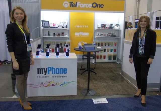 Polski Smartphone na Targach CES 2015 - myPhone INFINITY