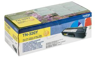 BROTHER Toner Żółty TN320Y=TN-320Y, 1500 str.