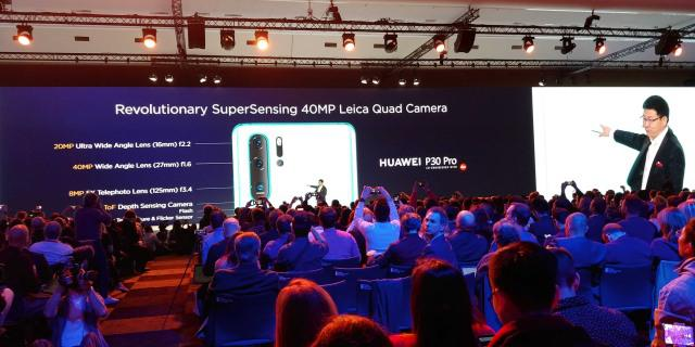 Huawei P30 Pro ma cztery obiektywy