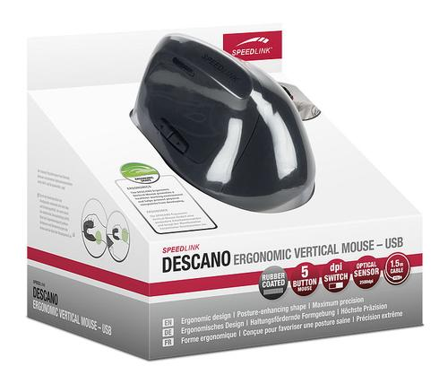 Speedlink DESCANO Ergonomic Vertical Mouse