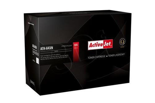 ActiveJet ATH-64XN czarny toner do drukarki laserowej HP (zamiennik 64X CC364X) Premium