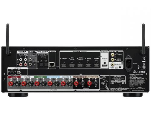 Denon AVAVR-X1100W BK