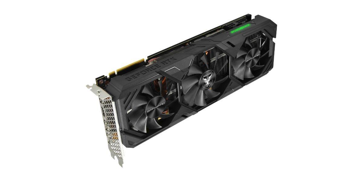 Gainward GeForce RTX 2070 SUPER Phoenix GS - podświetlenie