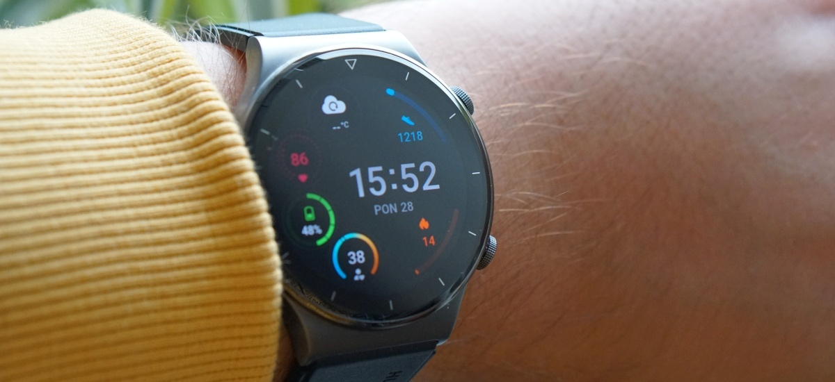 Huawei Watch GT2 Pro ma mocną baterię
