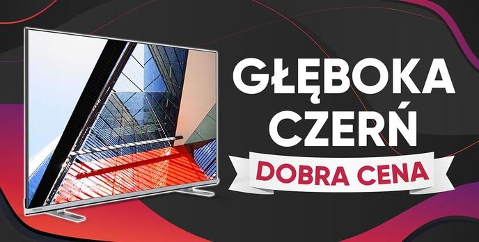 Toshiba 58UL4B63DG - Test niedrogiego telewizora 4K z głęboką czernią