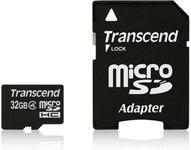 Transcend Micro SDHC Class 4 (+ adapter)