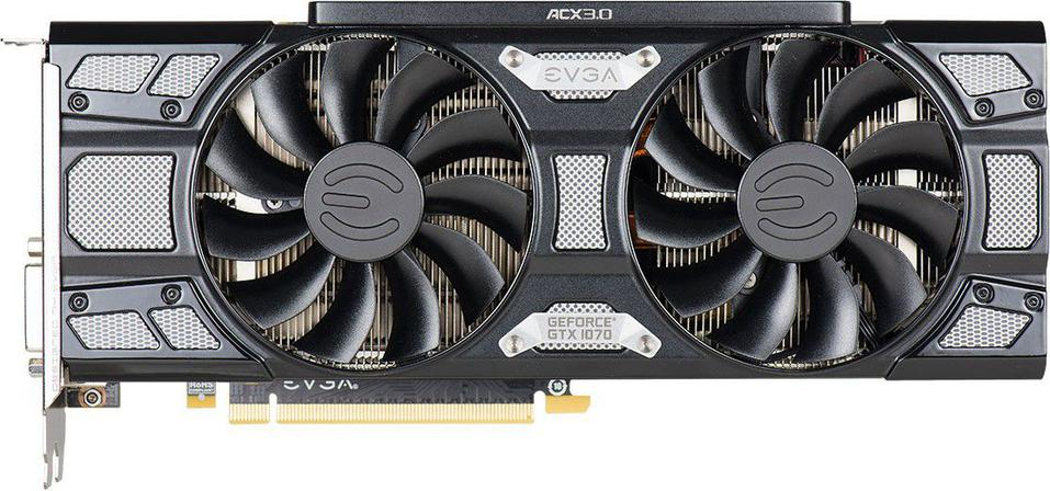 EVGA GeForce GTX 1070 SC Gaming ACX 3.0 Black Edition 8GB GDDR5 (256