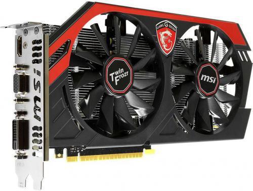 MSI GeForce GTX 750Ti GAMING 2GB GDDR5 (128 bit) HDMI, DVI, D-Sub (N750Ti TF 2GD5/OC)