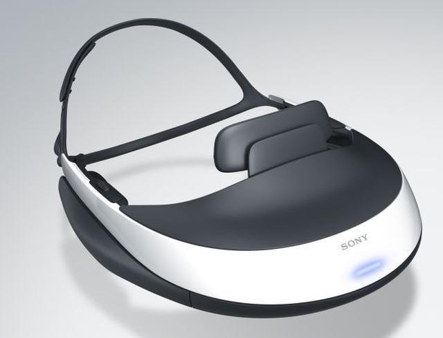 Sony HMZ-T1 - wysokiej jakości okulary 3D