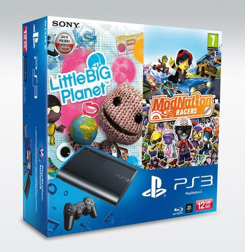 PS3 12GB + Little Big Planet + Modnation