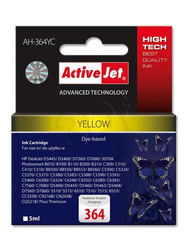 ActiveJet AH-364YC tusz żółty do drukarki HP (zamiennik HP 364 CB320EE) Premium