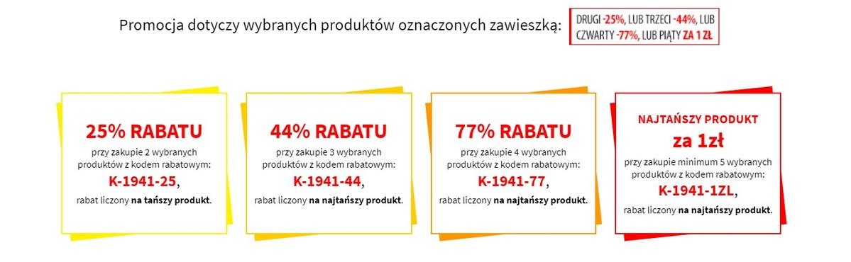 Extra Rabat na kilka produktów uaktywnimy w koszyku