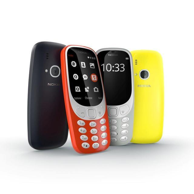 Nokia 3310 kolory