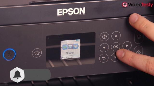 Epson L4160 - drukarka z wyświetlaczem LCD