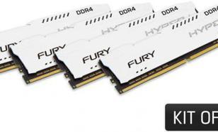 HyperX Fury DDR4, 4x8GB, 2666MHz, CL16 (HX426C16FW2K4/32)