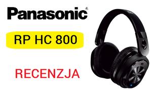 Panasonic RP-HC800 - Słuchawki Audio Dla Wymagających
