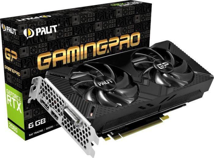Palit RTX 2060 GamingPro, 6GB GDDR6, 192-bit (NE62060018J9-1062A)