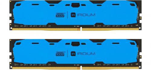 GOODRAM IRDM 8GB niebieski [2x4GB 2400MHz DDR4 CL 15-15-15 512x8 DIMM] ..