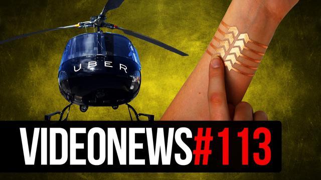 Uber Helikopter, Modularny Telefon Facebooka, AtariBox - VIDEONEWS #113