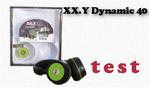 XX.Y Dynamic 40 test słuchawek z wbudowaneym odtwarzaczem MP3 i radiem FM