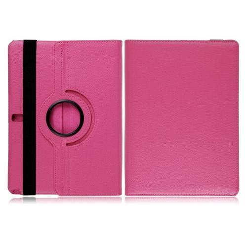 "WEL.COM Etui obrotowe 360° Galaxy Note Pro 10"" P600/P601 różowe"
