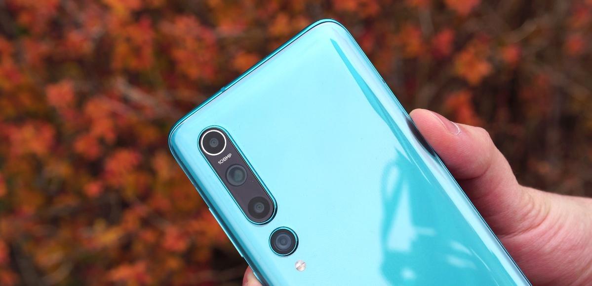 Xiaomi Mi 10 wykonano z solidnego szkła