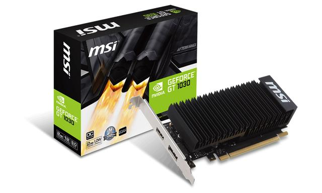 Karta graficzna MSI GeForce GT 1030 2GH LP OC