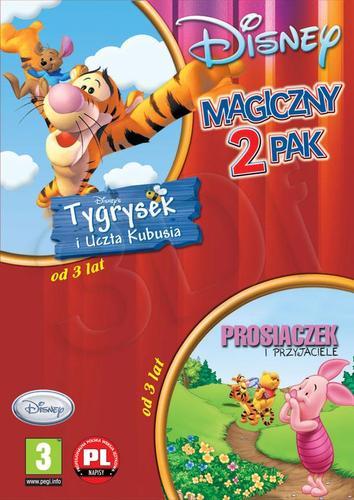Tygrysek i uczta Kubusia + Prosiaczek i przyjaciele