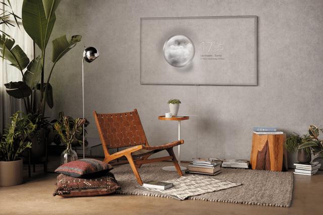 Telewizor Samsung QLED będzie mógł wtopić się w ścianę