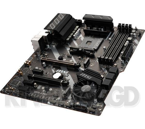 MSI X570-A PRO AM4 4DDR4 USB3.2/USB-C/HDMI ATX