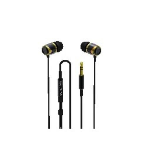SoundMAGIC E10 Black-Gold Sluchawki Dokanalowe