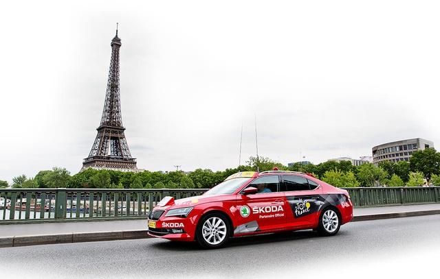 Zaplecze Tour de France - SKODA