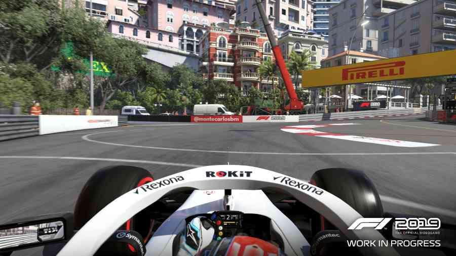 F1 2019 - Monako