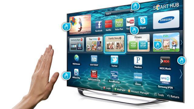 Sterowanie gestami Samsung Smart TV