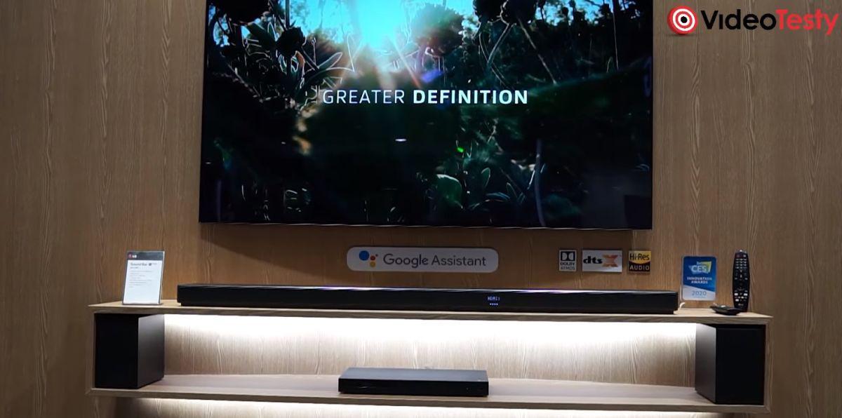 nowa linia inteligentnych soundbarów LG z CES 2020