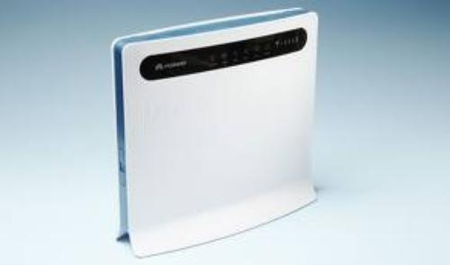 WEL.COM Huawei B593s-22 3G/4G WiFi/LAN LTE/HSPA+ router predkosc odbioru danych do 150 Mbps, LTE 1800/2600 MHz, HSPA+ 900/2100 MHz