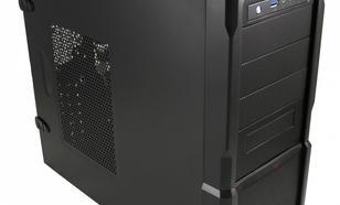 """LC-Power OBUDOWA CASE-PRO-923B/BZ """"RED CAPTOR"""" FRONT 1X USB 3.0 1X USB 2.0 HD-AUDIO 120mm CZERWONY WENTYLATOR CZARNA BEZ ZASILACZ"""