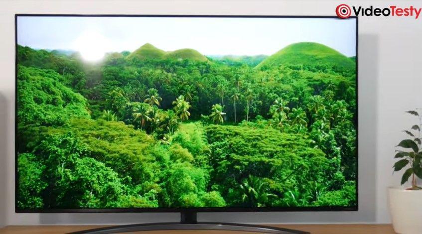LG 55SM8600 realistyczna zieleń