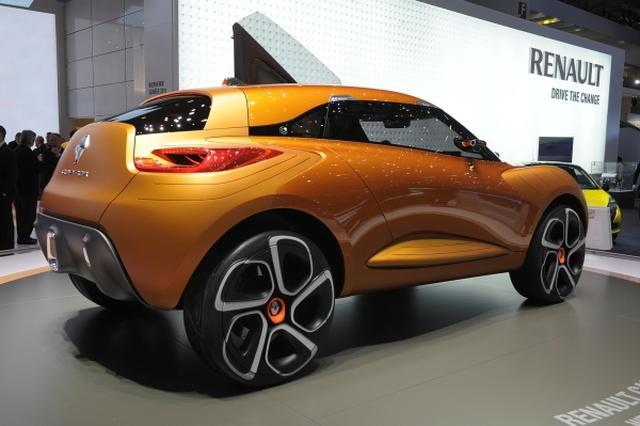 Renault Capture - nowa koncepcja francuzów