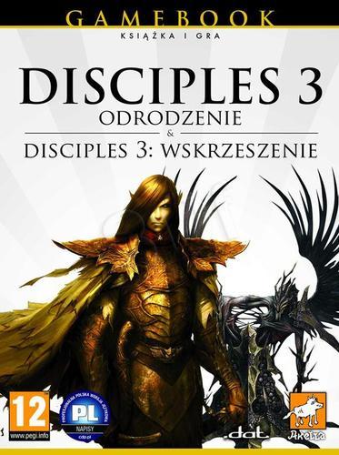 Disciples III: Odrodzenie + Wskrzeszenie (książka + gry PC)