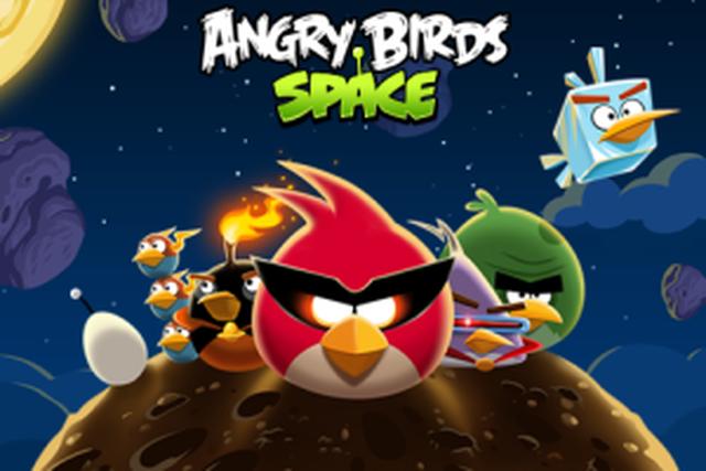 Angry Birds Space już dostępne w BlackBerry App World