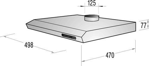 Gorenje Okap podszafkowy DU5115EC - Typ II