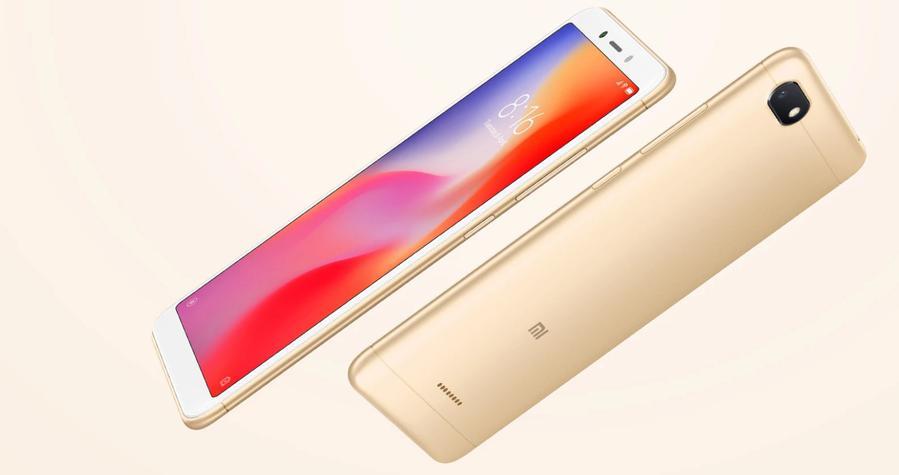 Xiaomi Redmi 6A wyróżnia się kompaktowymi wymiarami