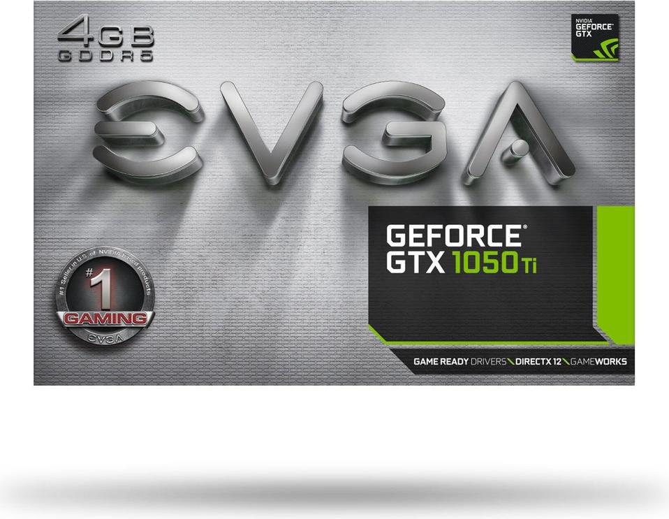 EVGA GeForce GTX 1050 Ti GAMING 4GB GDDR5 (128 Bit) HDMI, DP, DVI,