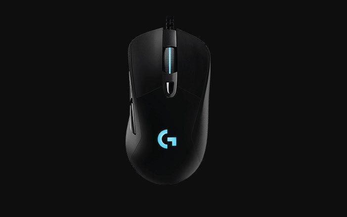 Logitech G403 Prodigy Wired kształt