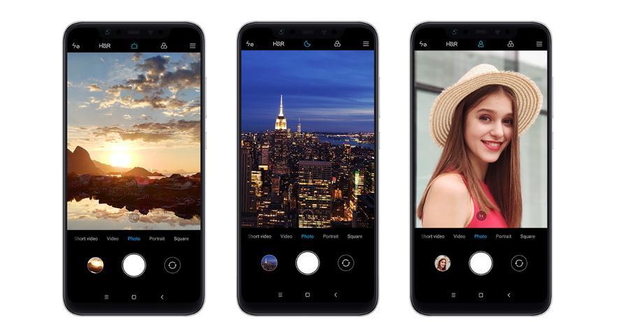 Xiaomi Mi 8 oferuje mnóstwo opcji fotograficznych