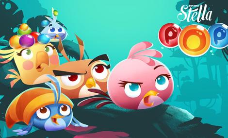 Recenzja Angry Birds Stella POP - Zabawa Z Kulkami