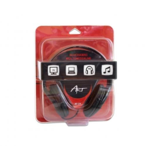 ART Słuchawki AP-54 bez mikrofonu multimedialne